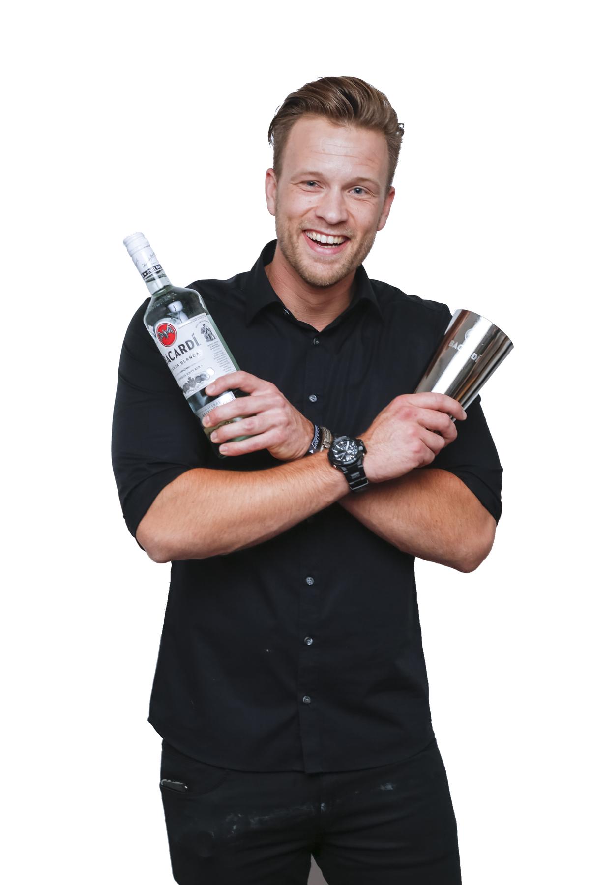 Shakeking Pim - hoofd cocktailshaker